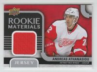 (66755) 2015-16 UPPER DECK ROOKIE MATERIALS JERSEY ANDREAS ATHANASIOU #RM-AA