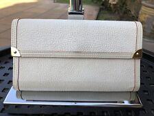 Louis Vuitton Off White Suhali Tri Fold Leather Wallet
