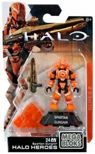 Mega Bloks Halo Heroes Series 2 Spartan Gungnir Mini Figure Brand New