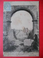 TEBESSA  :  Porte Extérieure de la Basilique Byzantine.......VO.1905.