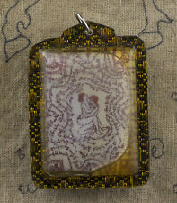 Amulette Thaï Yin tong érotique Talisman Huile benie Couple Amour Fertilité 1755