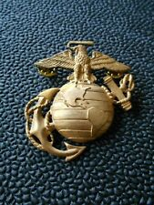 Military Insignia  -  Marine  Eagle, Globe and Anchor  -   with clutch pins