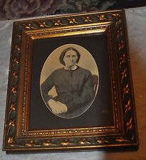 Antique Drawing Painting Picture Women Nice Frame Victorian