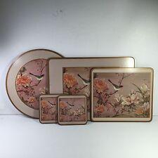 Pimpernel Miscellaneous 5-piece placemats, cork back.  See details below!