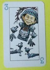 Ersatzkarte Mad Kartenspiel // Karte 3 Blau