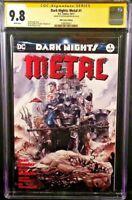 DARK NIGHTS METAL #1 CGC SS 9.8 DUSTIN NGUYEN VARIANT BATMAN WHO LAUGHS JOKER DC
