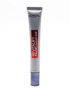 L'Oreal Paris Revitalift Filler Replumping Eye Cream 15ml - NEW - Damaged Box