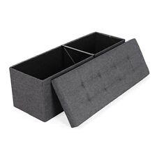 Storage Ottoman Folding Coffee Bench Living Room Decor Footstool Box Creative