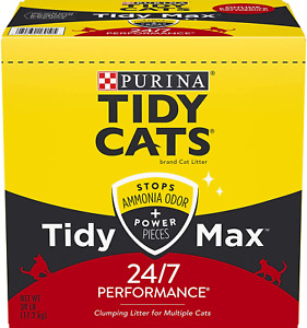 Purina Tidy Cats Clumping Cat Litter 38 Pounds 1 Pack 24/7 Performance
