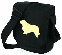 Clumber Spaniel Dog Bag Shoulder Bags Dogs Handbags Birthday Gift