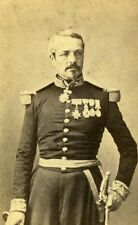 France Paris General Frossard Second Empire CDV Photo Mayer & Pierson 1860's