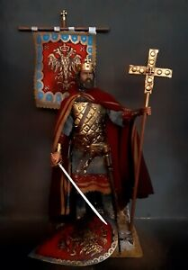 "12"" CUSTOM AKEXIOS KOMNENOS, EMPEROR OF THE BYZANTINE EMPIRE 1/6 FIGURE IGNITE"