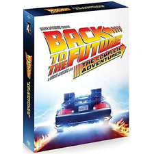 Back to the Future Complete Adventures Collection Movie 1 2 3 TV Series DVD Set