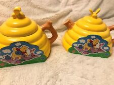 Winnie the Pooh Honey Tea Pots (Gently Used) set of 2