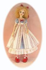 BJD dress pattern 4 53cm Dollstown Elf, adjust for Cissy, Nelly & Laycee