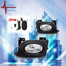 Winjet 2006-2008 Honda Civic Sedan Fog Lights Pair Set LH RH - Clear
