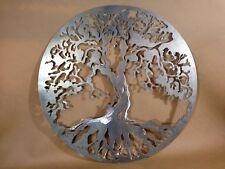"20"" Decorative Tree of Life Plasma Cut Metal Wall Art Hanging Home Decor"