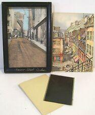 Photograph, Negative & Postcard- Champlain St Quebec