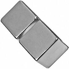 2 Neodymium Magnets 3/4 inch Cube N48 Rare Earth