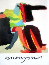 ALLEN JONES RA - Man Woman ('63) FRAMED SIGNED RARE