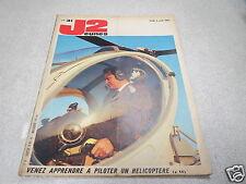 J2JEUNES N° 31 3 aout 1967 VENEZ APPRENDRE A PILOTER UN HELICOPTERE *