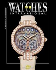 WATCHES INTERNATIONAL NEW PAPERBACK BOOK