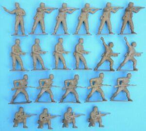 AIRFIX WWII BRITISH COMMANDOS - 1/32 scale - 21 figures