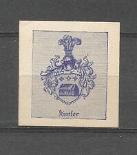 Kistler Escudo De Armas Sello de cartel/etiqueta (heráldica)