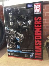 New Sealed Hasbro Transformers Generations Studio Series 14 IRONHIDE Voyager