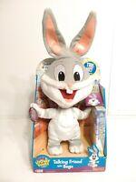 "Vtg Plush Looney Tunes Talking Baby Bugs 2002 Fisher Price Mattel 12"" New In Box"