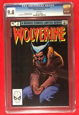 Marvel Wolverine #3 Limited Series Classic Frank Miller Cover CGC 9.8 WP 1982