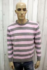 LACOSTE Maglione 6 Uomo Taglia L Casual Lana Sweater Pullover Invernale Pull