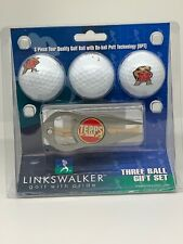 Maryland Terrapins Hat Trick Divot Tool & Terps Logo Golf Balls Gift Set