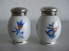 Art Deco ♥ Salz - & Pfefferstreuer ♥ gestempelt HB ♥ 800 er Silber Deckel ♥