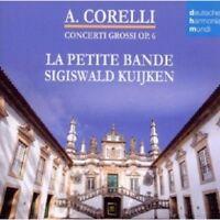 SIGISWALD KUIJKEN/LA PETITE BANDE - CONCERTI GROSSI OP.6  2 CD 52 TRACKS NEU
