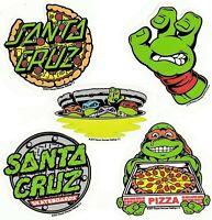 SANTA CRUZ  x TEENAGE MUTANT NINJA TURTLES Sticker / Skateboard Stickers