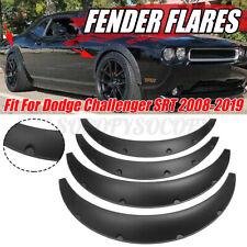 4Pcs 3.5'' Wheel Fender Flares Wide Body Kit For Dodge Challenger SRT