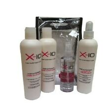 X-10 HAIR EXTENSION CARE KIT per Veri Umani, Virgin Remy Capelli Sintetici &