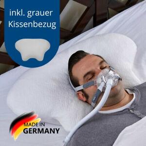 CPAP Kissen CPAP Kopfkissen Lina + Lina Kissenbezug grau