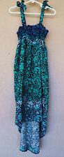 Xhilaration Girl's  Summer Dress/Beach Cover Up Sz M 7/8 Preowned
