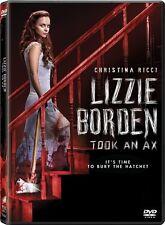 LIZZIE BORDEN TOOK AN AX New Sealed DVD Christina Ricci