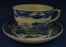 Spode Blue Room Collection Gothic Castle Large Breakfast Jumbo Cup & Saucer NEW