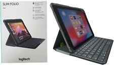 "Logitech ipad Slim Folio Estuche Teclado Inalámbrico Bluetooth Ipad 9.7"" 5 & 6 Negro"