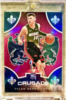 2019-20 Panini TYLER HERRO Silver Prizm Pink CHRONICLES Crusade ROOKIE Rc Heat🔥