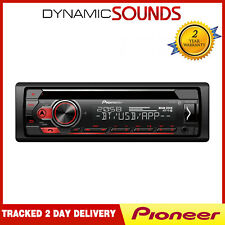 Pioneer DEH-S410BT CD MP3 Tuner Bluetooth USB iPhone Android Car Stereo Spotify