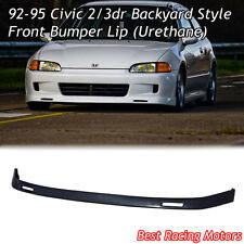 BYS Style Front Bumper Lip (Urethane) Fits 92-95 Honda Civic 2dr