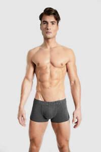 Rounderbum Mens Bum Padded Cotton Boxer Trunks, Reshapes Your Butt