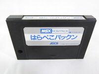 MSX HARAPEKO PACKN Cartridge only Import Japan Video Game msx