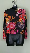 NEW LOOK FLORAL CROP STUNNING TOP SIZE UK 8