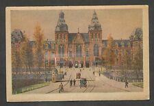 Amsterdam  Rijksmuseum  Aquarel M. v. Boordt (kaart met luikje)